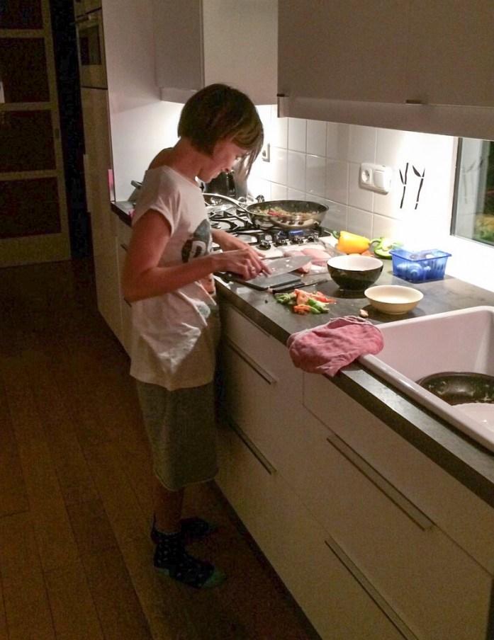 Cocinando en Amsterdam