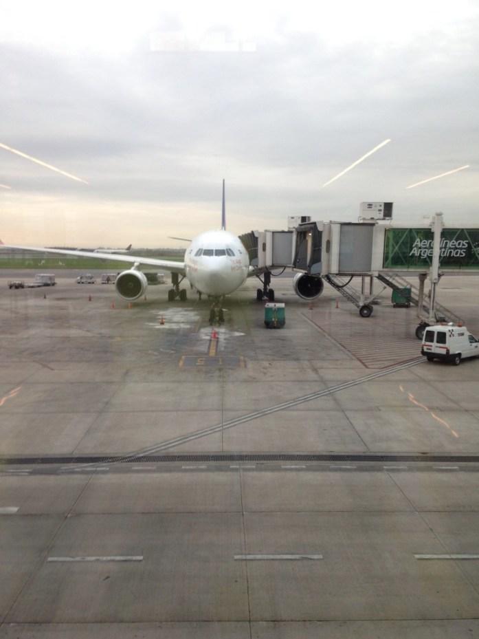 El avión con el que huí del país la primera vez