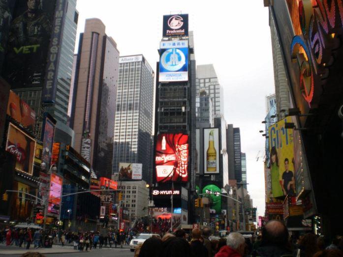 Nueva York y el Times Square