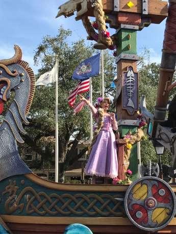 Rapunzel cantando!