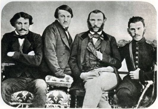 Sergei, Nikolai, Dmitry and Lev
