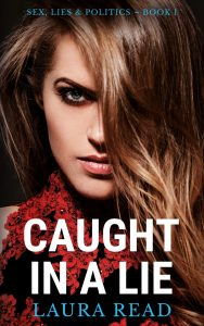Caught in a Lie book cover for new release