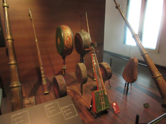 I've forgotten where these instruments were from but they sounded good!