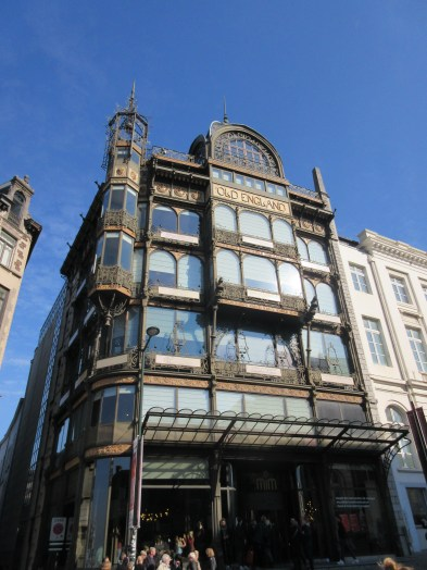 The Art Nouveau Old England Building that the museum is housed in. Beautiful!