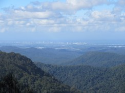The Gold Coast in the distance