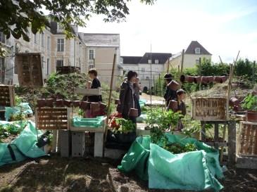 Jardin fort Auxerre