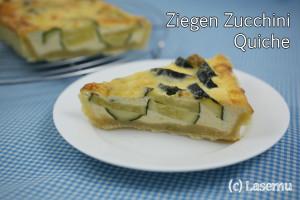 Ziegen Zucchini Quiche