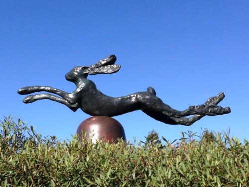 Hare at Walker Art Center