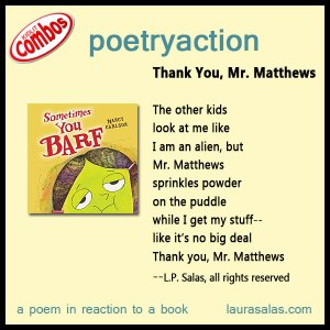 poetryaction to Sometimes You Barf