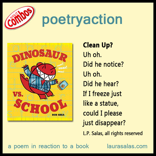 Poetryaction for Dinosaur vs. School