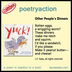 poetryaction and bookalikes for Yuck!