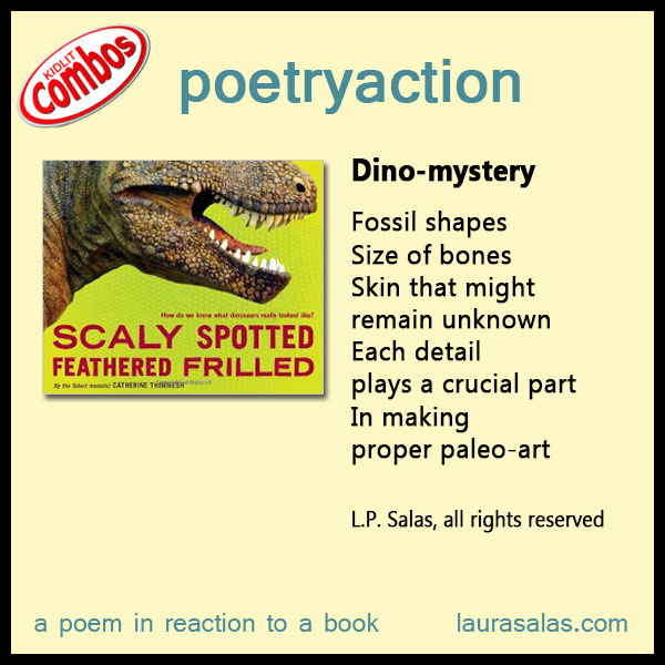 Scaly, Spotted, Feathered, Frilled