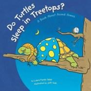 do turtles sleep in treetops