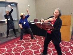 Susan Marie Swanson, Janet Wong, and Nancy Bo Flood Cowboy Up!