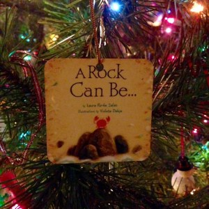 A Rock Can Be... an ornament!