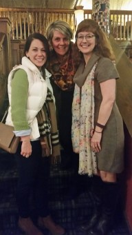 Had a lovely evening with teachers Stacey Goodman and Kim Doele.