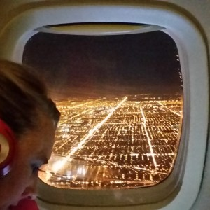Landing in Chicago