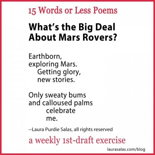 mars rovers 15wol poem