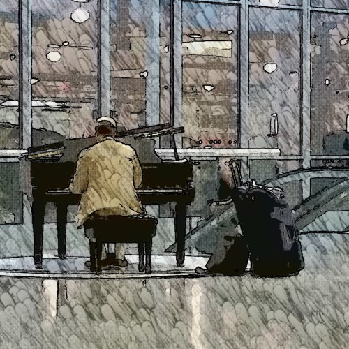 Pianist Airport 15wol