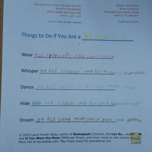 Ryley's Things to Do if You Are a Mountain