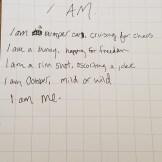 I Am, by Annabelle R. Salas