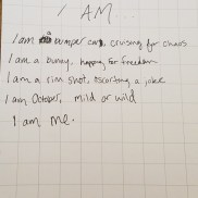 I Am, by Annabelle R. Salas