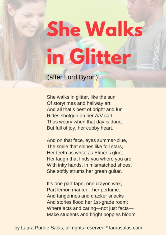 She Walks in Glitter