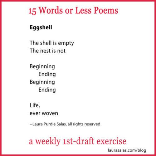 robin eggshell 15wol poem