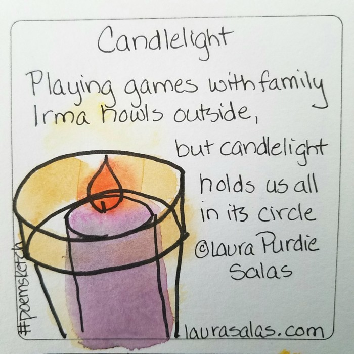 Games by Candlelight #Poemsketch