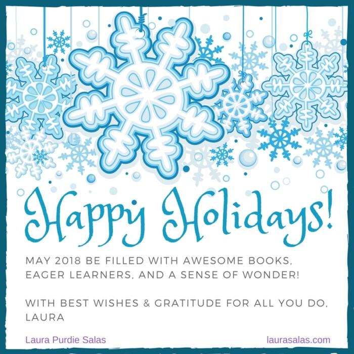 Happy Holidays 2017 for teachers