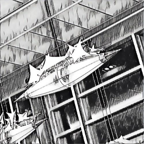 Airport sailing ship