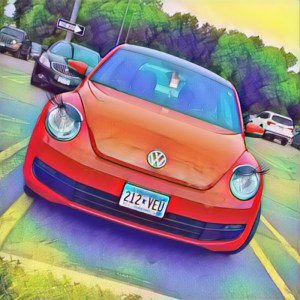 Car with Eyelashes [15 Words or Less]