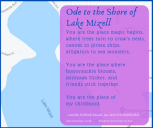 Ode to Lake Mizell