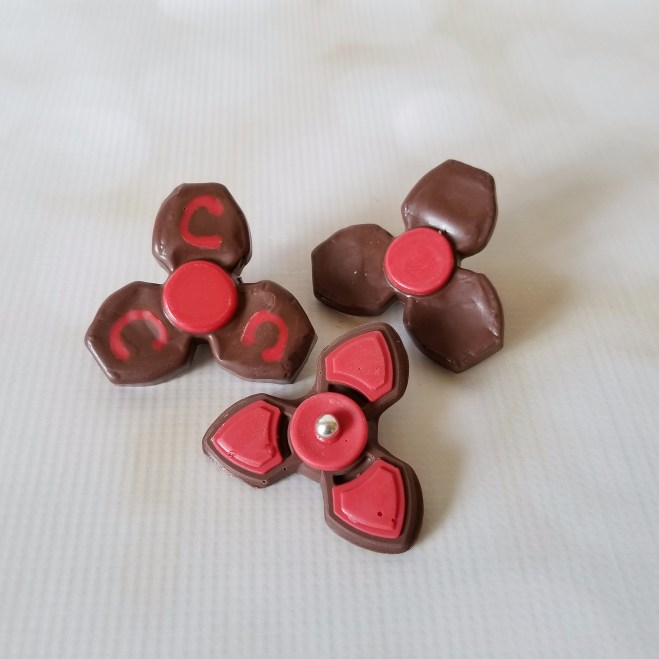 Chocolate Fidget Spinners