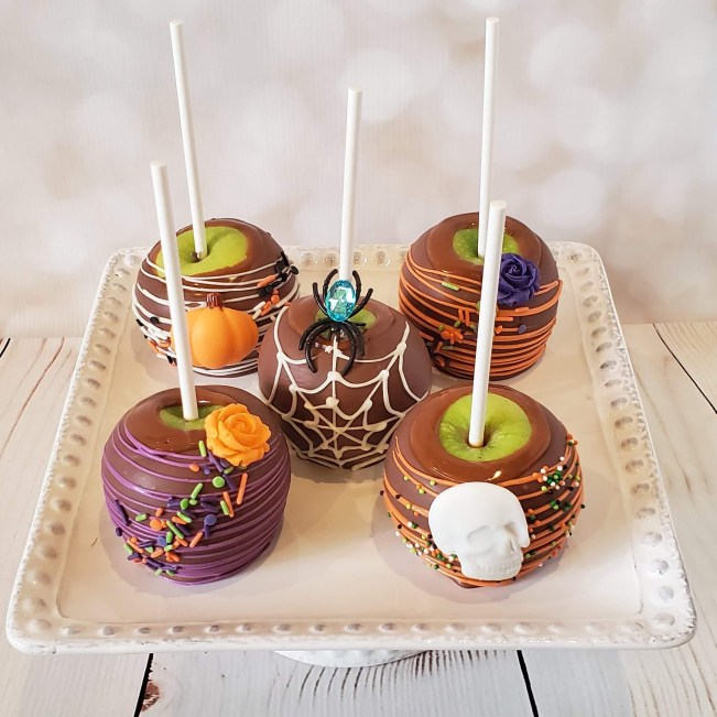 Halloween 3 Caramel Apples