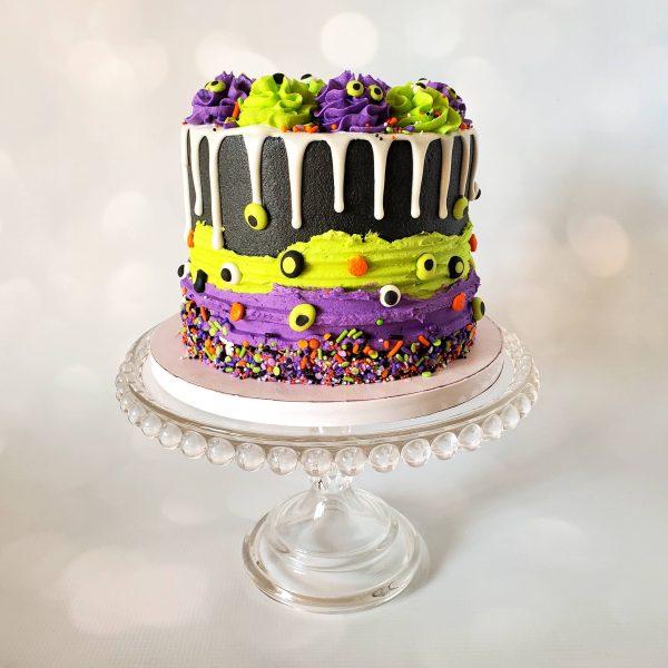 Halloween drip cake