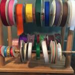 handmade ribbon holder organization