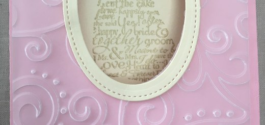 Wedding Window Card