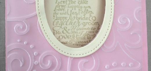 Wedding Window Card