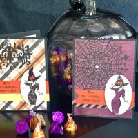 Beautiful You Halloween Cards - New Use for Non-Holiday Stamps