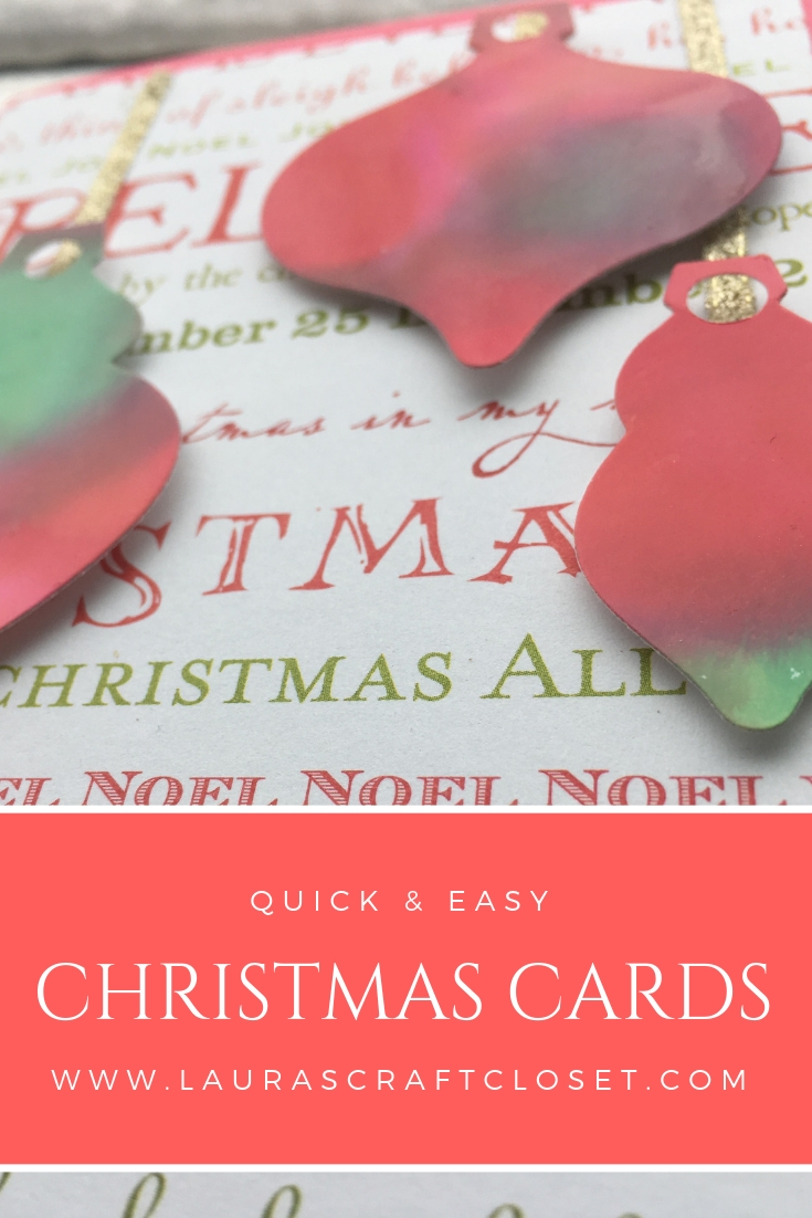 Quick Christmas Card - No Stamping Required!?