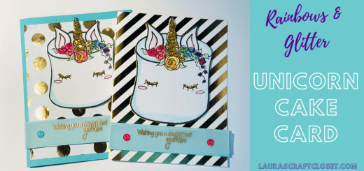 Unicorn cake card digi twitter