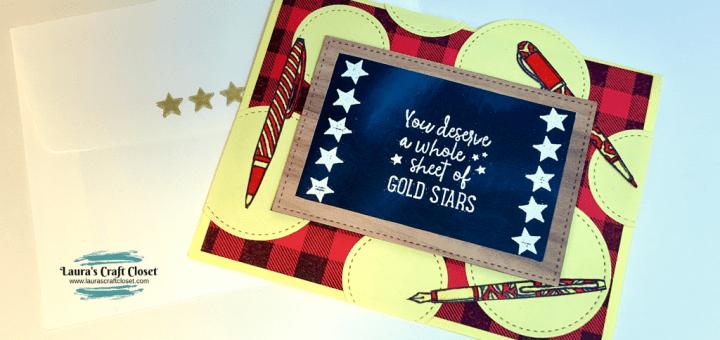 Back to school chalkboard card twitter