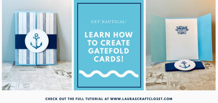 Nautical Gatefold Card Twitter