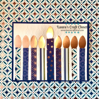 Bright Menorah Card for Hanukkah