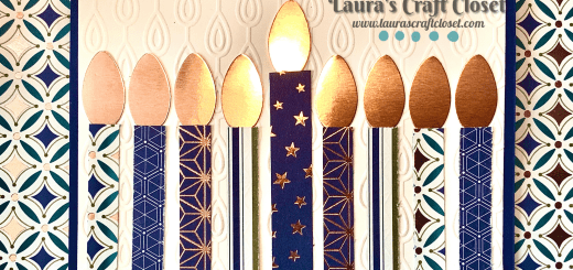 Menorah Hanukkah card