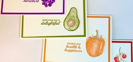 Fruit and Vegetable CAS Card Set