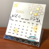 May Calendar - Farewell to Honey Bees