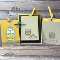 Brown Bag Whiskey Card and 3D project