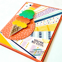 Sunburst Ice Cream Card